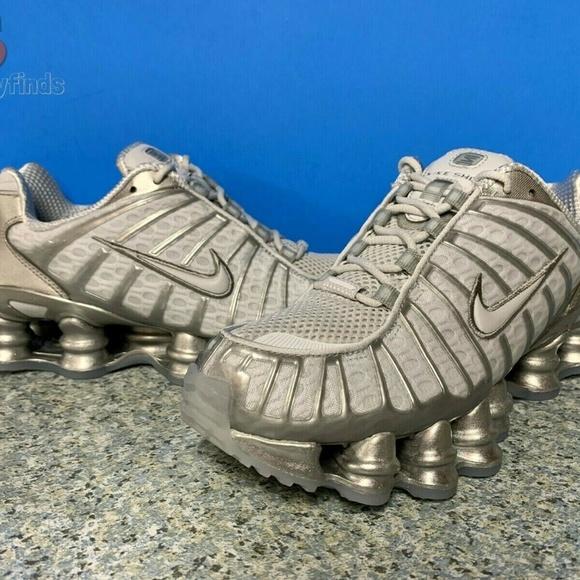 Nike Shox TL Men´s Officiel 2020 Pas Cher Shoes Black
